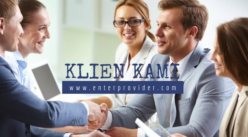 Klien enter provider