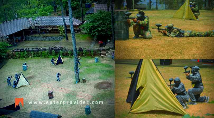 Paintball di Pacet Trawas