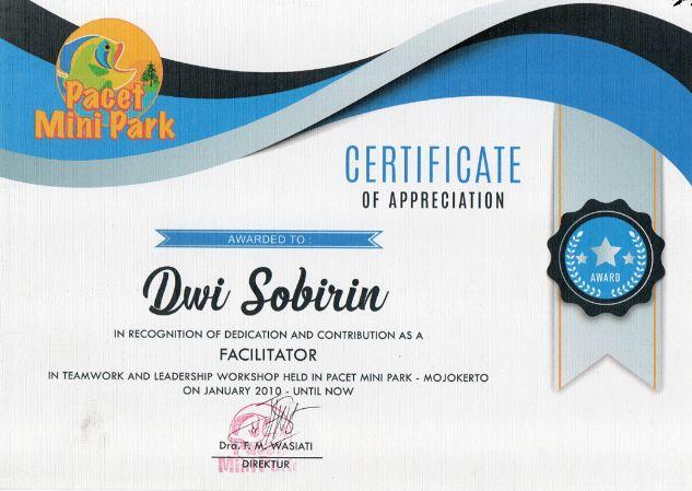 Profile Trainer Enter Provider Dwi Right