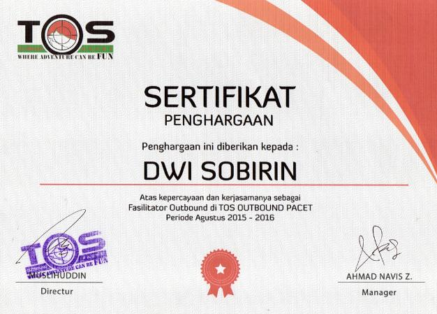 Profile Trainer Enter Provider Dwi Right