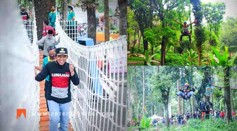 Outbound di Wisata Siti Sundari Lumajang