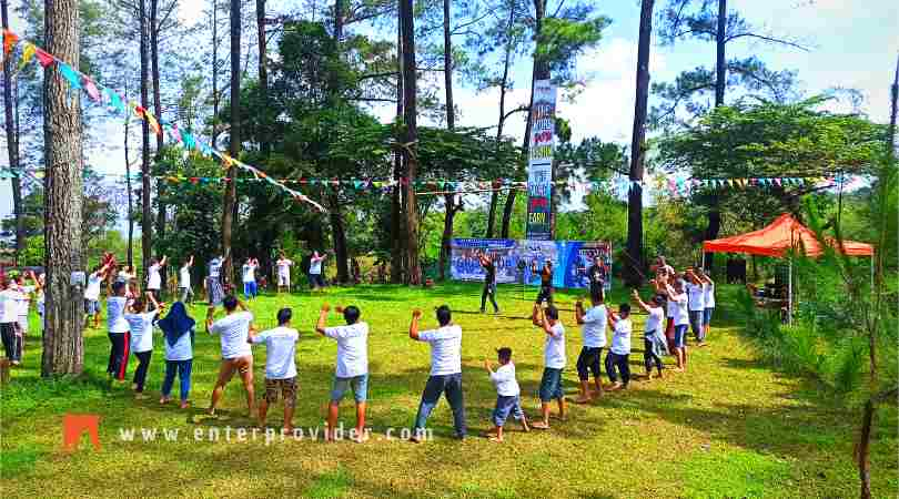 Program Outbound Paintball di Pacet