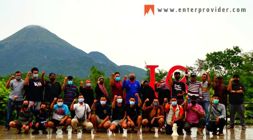 Outbound Gathering di Blessing Hills Trawas